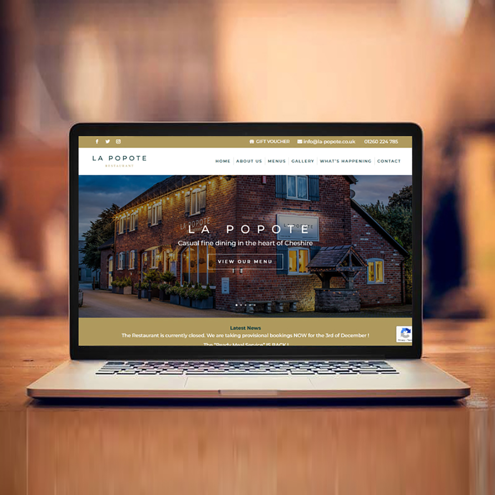 Nettl Macclesfield - La Popote Website