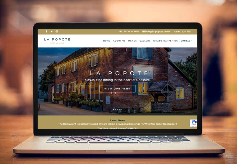 La Popote Website