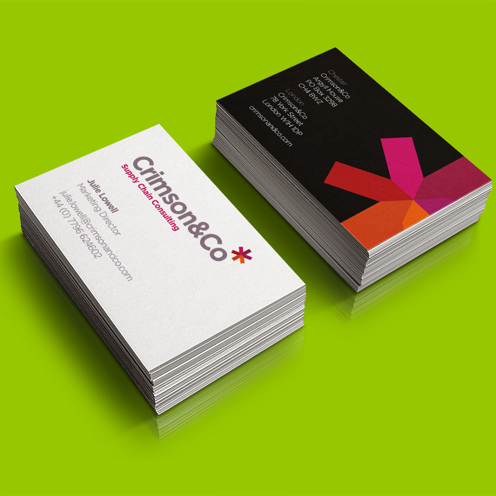 Nettl Macclesfield - Crimson Business Card