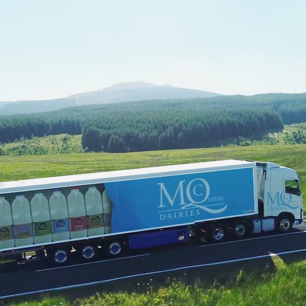 Nettl Macclesfield - McQueens Truck Livery