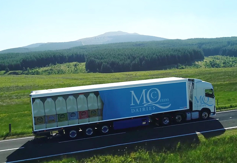 McQueens Truck Livery