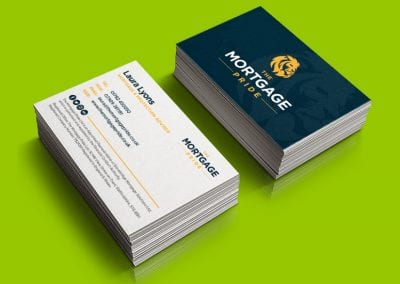 Mortgage Pride Business Card