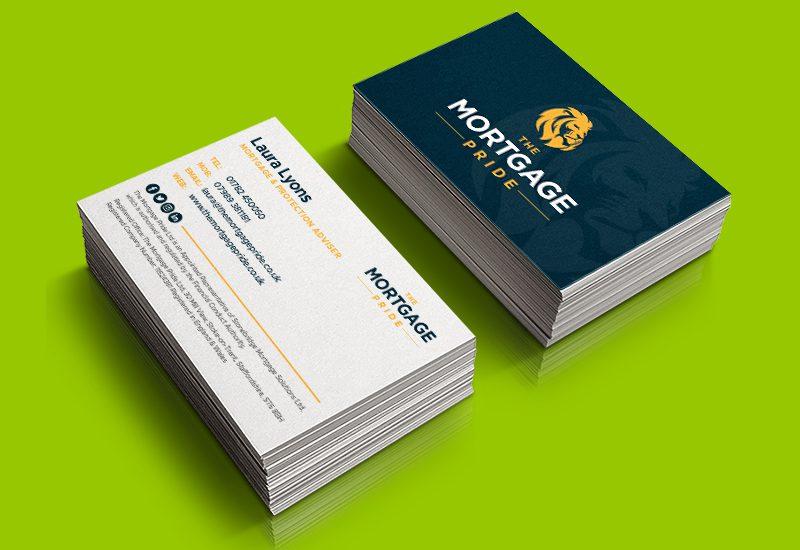 Mortgage Pride Business Card