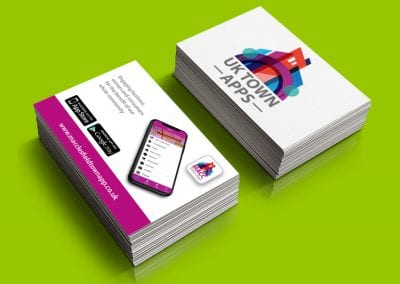 UK Town Apps Business Card